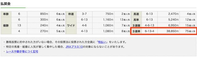 20191117京都7R3歳以上1勝クラス結果